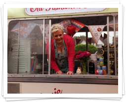 Liz Martin & Annie The Ice Cream Van
